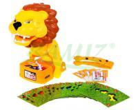 Dühös oroszlán ügyességi játék